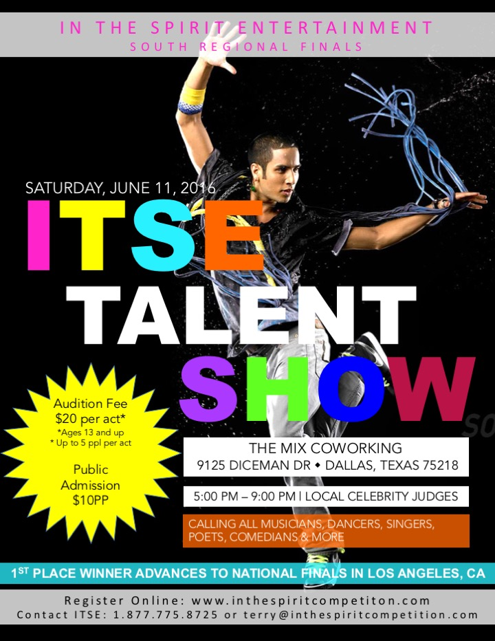 ITSE Dallas Auditions
