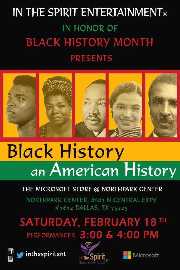 In The Spirit Entertainment Presents Black History An -6257